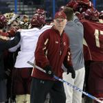 Boston College coach Jerry York and his Eagles have been standouts in the NCAA Tournament, and the team is in the championship game for the fifth time in seven seasons.